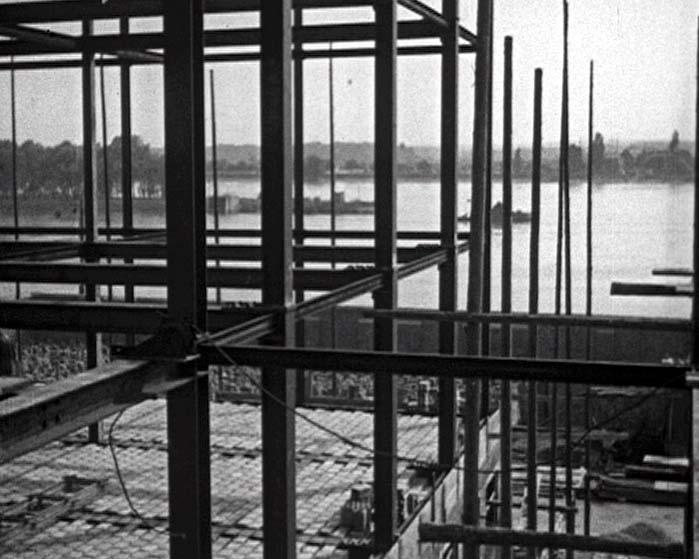 Bau Verwaltungsgebäude Kalle