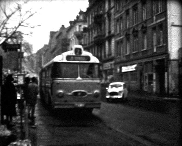 Bus in der Schwallbacher-Str.
