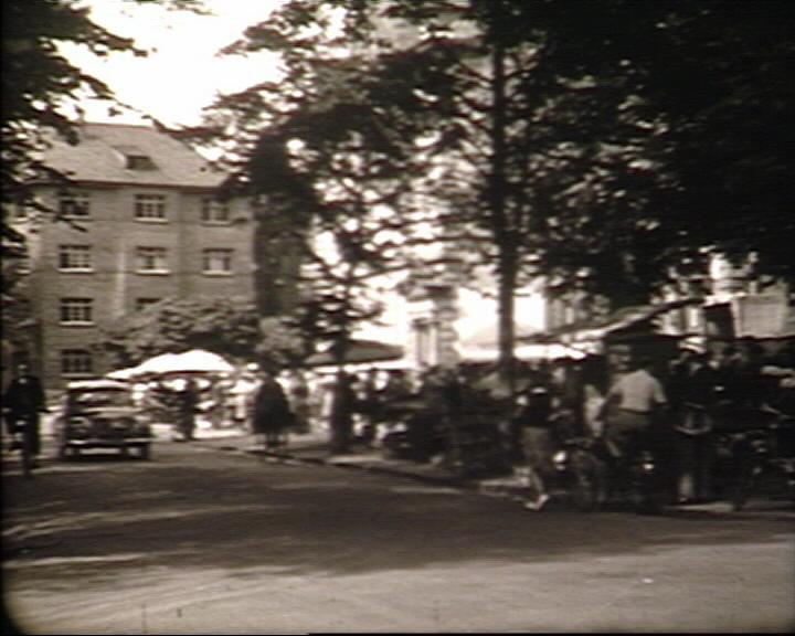 Markt in der Frankfurter Str.