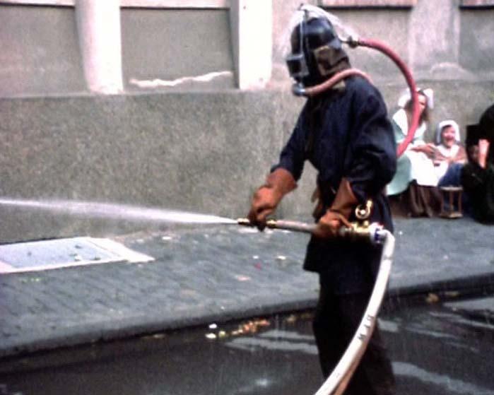 Hist. Feuerwehrübung