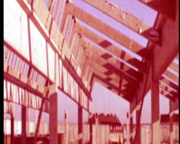 Bau der Jugendstrafanstalt