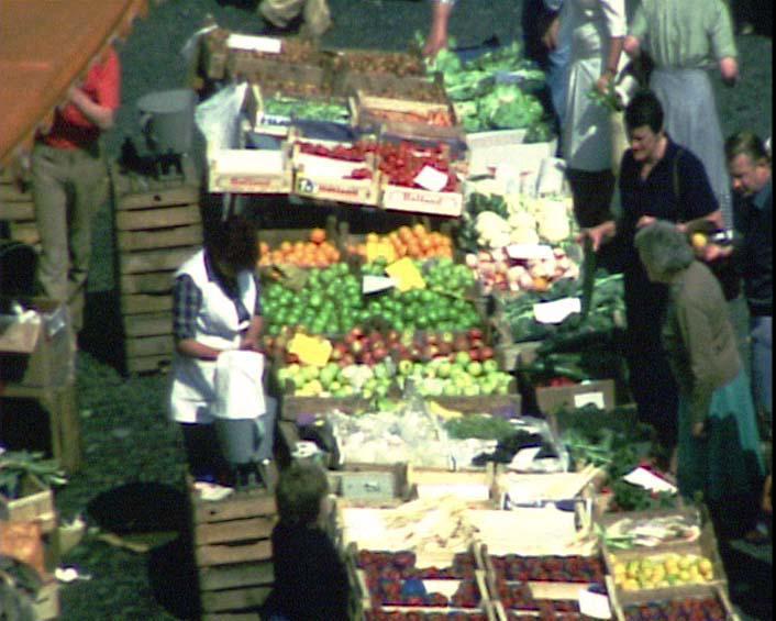 Wochenmarkt 1979