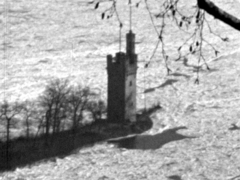 Rhein in Eis