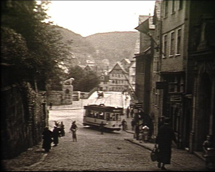 Rudolphsplatz mit Straßenbahn