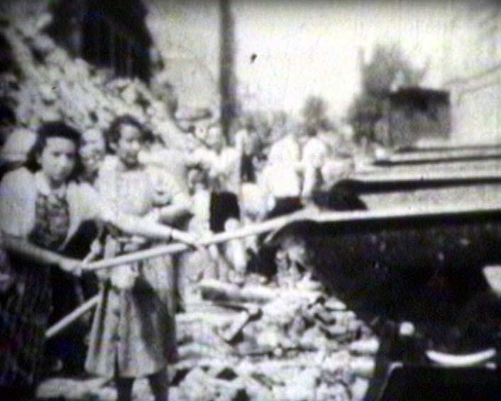 Wiederaufbau Trümmerfrauen