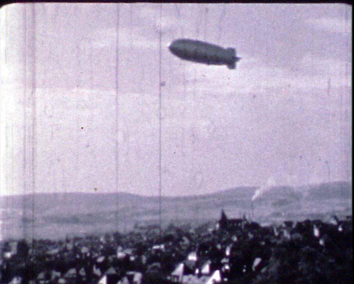 Zeppelin über Wetzlar