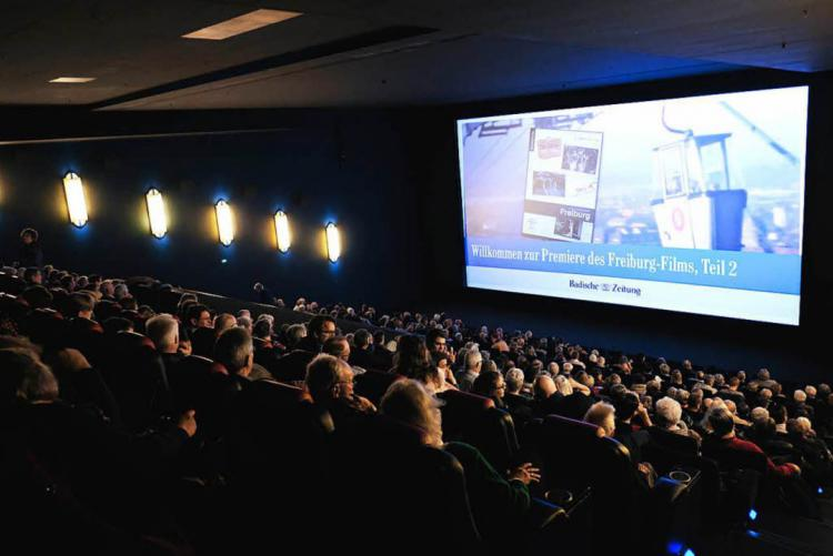 In zwei ausverkauften Kinosälen hatte der neue Freiburg-Film Premiere. Foto: Miroslav Dakov